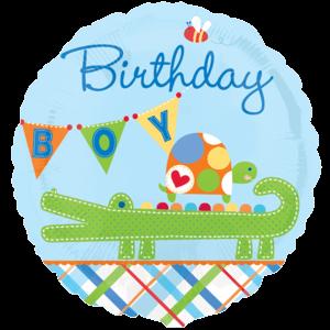 Alligator Birthday Balloon in a Box