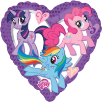 My Little Pony Heart Balloon in a Box