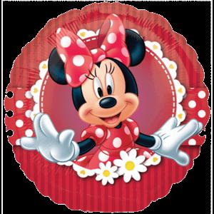 Polka Dot Minnie Mouse Balloon in a Box