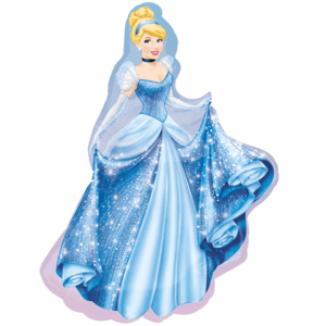 Cinderella SuperShape Balloon in a Box