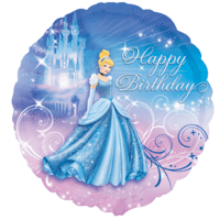 Cinderella Ballroom Happy Birthday