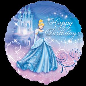 Disney Cinderella Happy Birthday Balloon in a Box