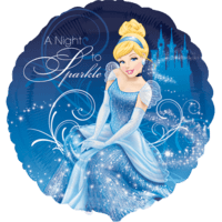 Cinderella A Night to Sparkle Balloon in a Box