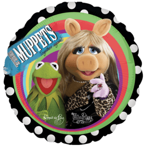 Muppets Kermit and Miss Piggy Balloon in a Box