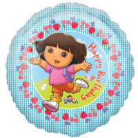 Dora the Explorer Birthday Balloon in a Box