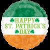 """18"""" St Patricks Irish Flag Balloon overview"""
