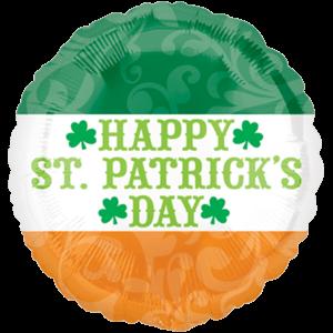 St Patrick's Day Irish Flag Balloon in a Box