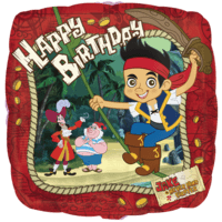 Jake & the Neverland Pirates Happy Birthday  Balloon in a Box