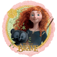 Brave Merida Balloon in a Box