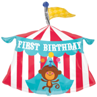 Fisher Price First Birthday Monkey Balloon in a Box