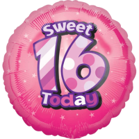 Sweet 16th Birthday Balloon in a Box
