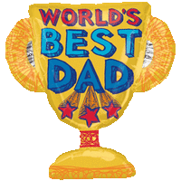 Dad Trophy Balloon in a Box