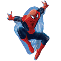 "Spiderman 17"" supershape Balloon in a Box"