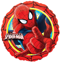 Vibrant Spider Man Balloon in a Box