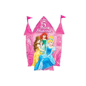 5th Birthday Disney Princesses Castle