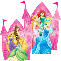 Disney Princess Castle Balloon in a Box