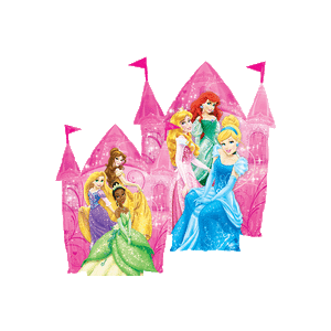 Disney Princesses Castle Balloon in a Box