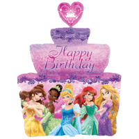 Disney Princess Happy Birthday Cake Balloon in a Box