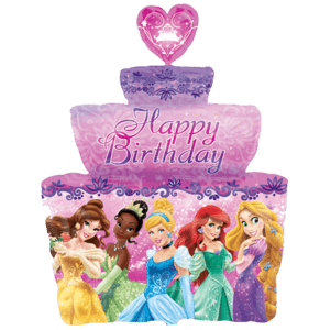 Happy Birthday Disney Princess Cake