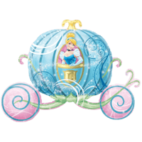 Disney Cinderella Carriage Balloon in a Box
