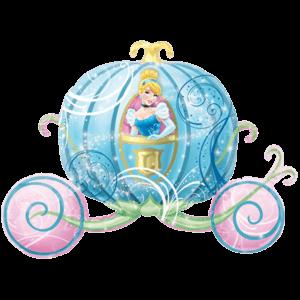 Cinderella Disney Carriage Balloon in a Box