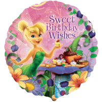Tinker Bell Sweet Birthday Wishes Balloon in a Box