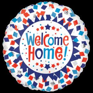 Welcome Home Confetti Burst Balloon in a Box