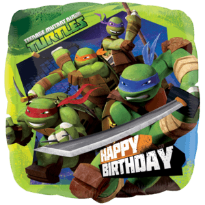 Ninja Turtles Birthday Balloon in a Box