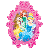 Princesses Frame Balloon in a Box