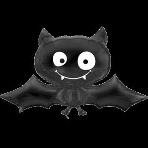Black Bat Balloon in a Box