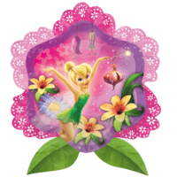 Disney Fairies Tinker Bell Flower Shape Balloon in a Box
