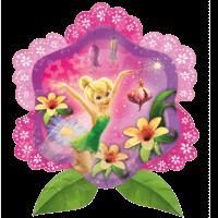 Disney Tinker Bell Flower Shape Balloon in a Box