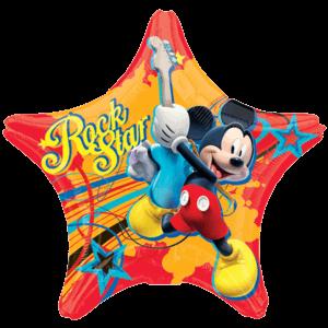 Mickey Rock Star Balloon in a Box