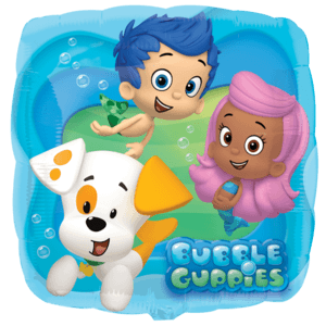 Colourful Bubble Guppies Balloon in a Box