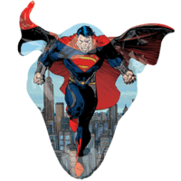 "31"" Superman Man of Steel Balloon in a Box"