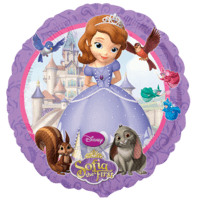 Sofia The First Disney Balloon in a Box