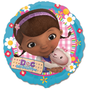 Colourful Doc McStuffins Balloon in a Box