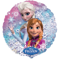 Frozen Elsa and Anna Holographic Balloon in a Box