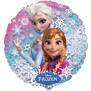 Frozen Sisters Snowflakes Balloon in a Box