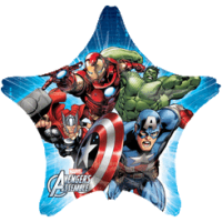 Marvel Avengers Star Balloon in a Box