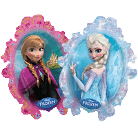 Elsa and Anna Frozen Balloon in a Box