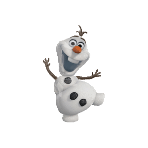 Frozen Olaf Snowman Balloon in a Box
