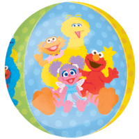 Sesame Street Characters Orbz Balloon in a Box