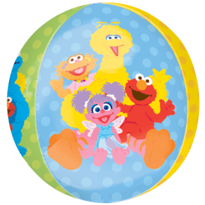 Colourful Sesame Street Orbz