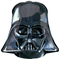 Star Wars Darth Vader Helmet Balloon in a Box