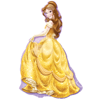 Princess Belle Balloon in a Box