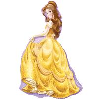 Ballroom Princess Belle Balloon in a Box
