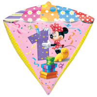 1st Minnie Mouse Diamondz Balloon in a Box