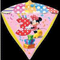 3rd Minnie Mouse Diamondz Balloon in a Box