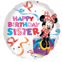 Disney Happy Birthday Sister Balloon in a Box